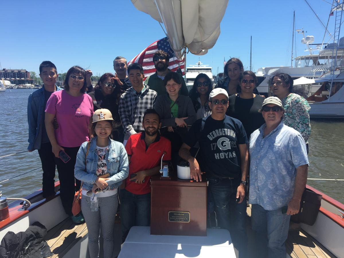 ICBI_2017 Sailing Retreat